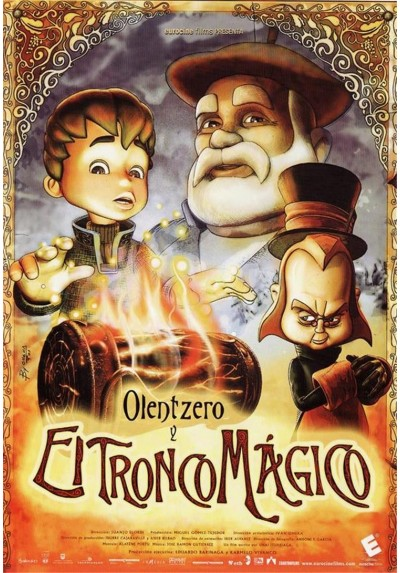 Olentzero Y El Tronco Magico
