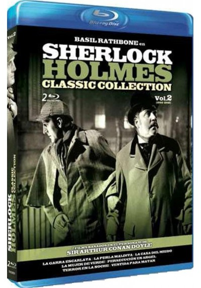 Sherlock Holmes : Classic Collection - Vol. 2 (Blu-Ray)