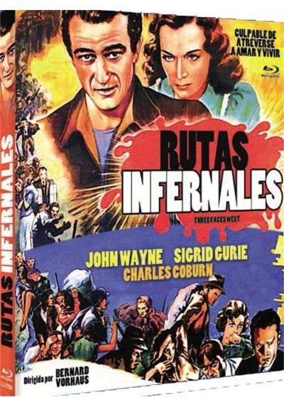 Rutas Infernales (Three Faces West)