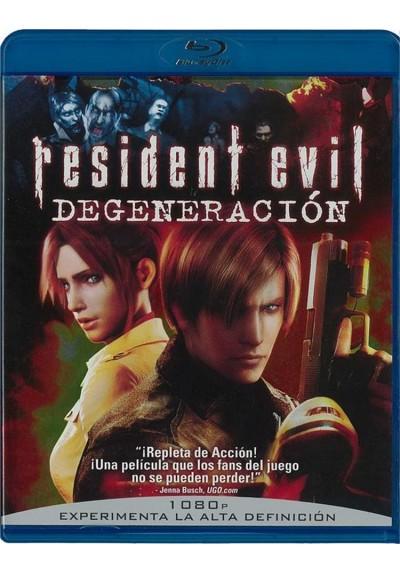 Resident Evil : Degeneración (Blu-Ray)