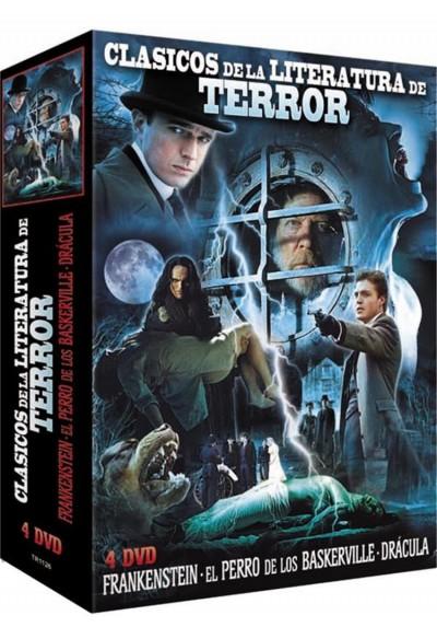 Clasicos De La Literatura De Terror (Pack)