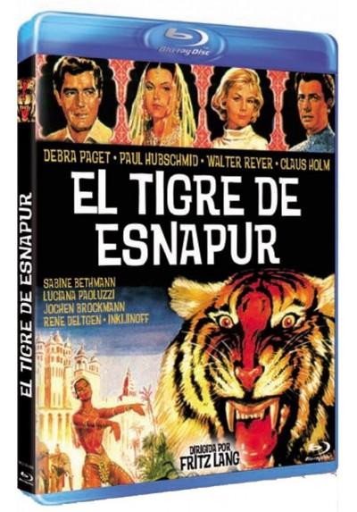 El Tigre De Esnapur (Blu-Ray) (Der Tiger Von Eschnapur)