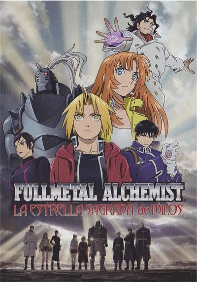 Fullmetal Alchemist : La Estrella Sagrada De Milos