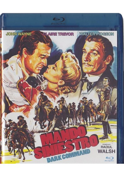Mando Siniestro (Blu-Ray) (Dark Command)