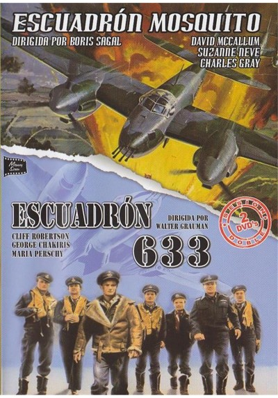 Cine Clasico - Belico - Escuadron Mosquito y Escuadron 633
