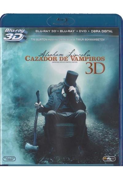 Abraham Lincoln : Cazador De Vampiros (Blu-Ray 3d) (Abraham Lincoln: Vampire Hunter)