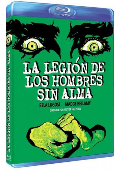 La Legion De Los Hombres Sin Alma (Blu-Ray) (White Zombie) (BD-R)