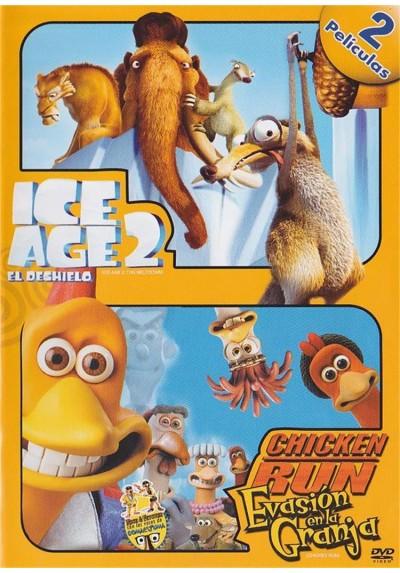 Pack Duo - Ice Age 2 : El Deshielo / Chicken Run (Evasion En La Granja)