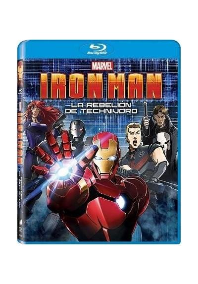 Iron Man - La Rebelion De Technivoro (Blu-Ray) (Iron Man: Rise Of Technovore)