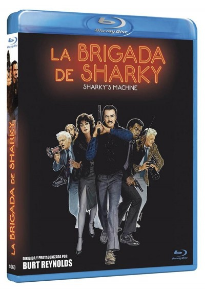 La Brigada De Sharky (Blu-Ray) (Sharky'S Machine)