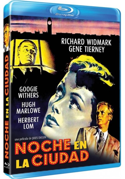 Noche En La Ciudad (Blu-Ray) (Night And The City)