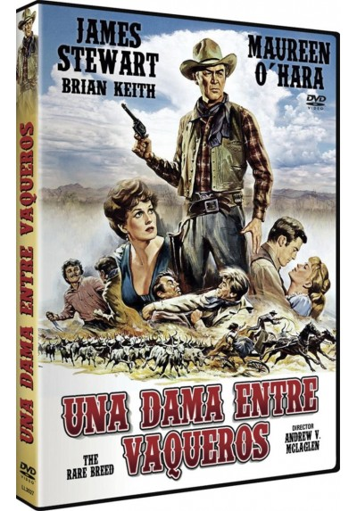 Una Dama Entre Vaqueros (The Rare Breed)