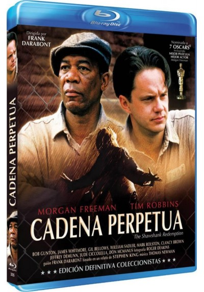 Cadena Perpetua (Blu-Ray) (Ed. Definitiva) (The Shawshank Redemption)