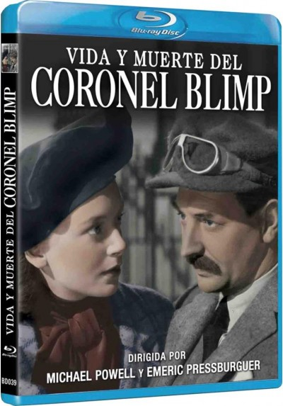 Vida Y Muerte Del Coronel Blimp (Blu-Ray) (The Life And Death Of Colonel Blimp)