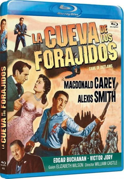 La Cueva De Los Forajidos (Blu-Ray) (Bd-R) (Cave Of Outlaws)