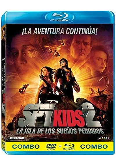 Spy Kids 2 : La Isla De Los Sueños Perdidos (Spy Kids 2: Island Of Lost Dreams) (Blu-Ray + Dvd)