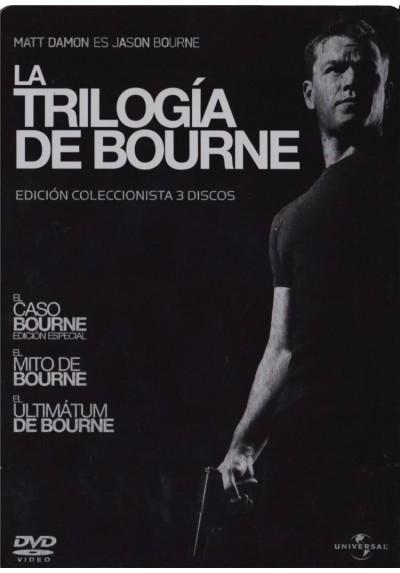 Pack Bourne - La Trilogia (Ed. Limitada - Metalica)