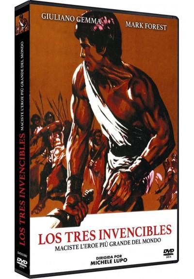 Los Tres Invencibles (Dvd-R) (Maciste, L'Eroe Più Grande Del Mondo)