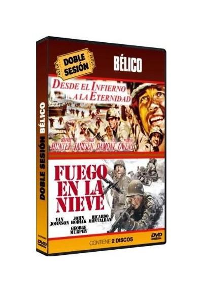 Doble Sesion de Belico -  Desde El Infierno A La Eternidad / Fuego En La Nieve (Dvd-R)