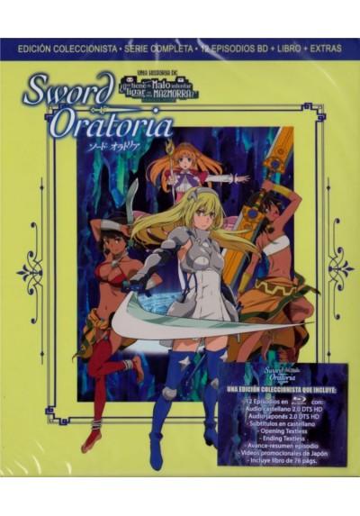 Sword Oratoria (Blu-Ray + Extras + Libro) (Dungeon Ni Deai O Motomeru No Wa Machigatteiru No Daro Ka? Gaiden: Sword Oratori)