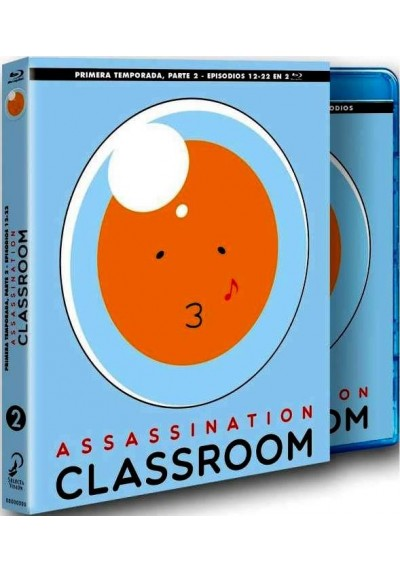 Assassination Classroom - 1ª Temporada - 2ª Parte (Blu-Ray)