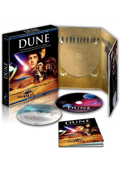 Dune (Blu-Ray + Dvd + Libro) (Ed. Coleccionista)