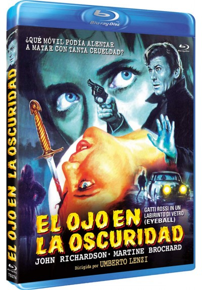 El Ojo En La Oscuridad (Blu-Ray) (Gatti Rossi In Un Labirinto Di Vetro)