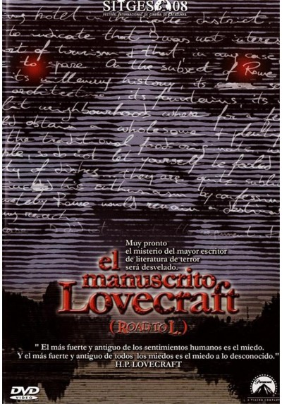 El Manuscrito Lovecraft (Road To L.) (Il Misterio Di Lovecraft (Road To L.))
