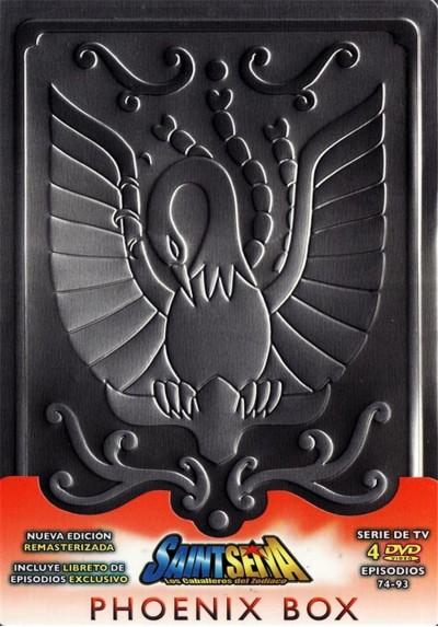 Saint Seiya - Los Caballeros Del Zodiaco : Saga Del Santuario - Phoenix Box