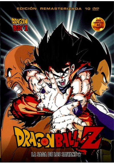 Dragon Ball Z - La Saga De Los Saiyans - Dragon Box 1 (Episodios 1 - 40)