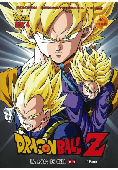 Dragon Ball Z : La Saga De Cell - 1ª Parte (Epi. 118 - 157)