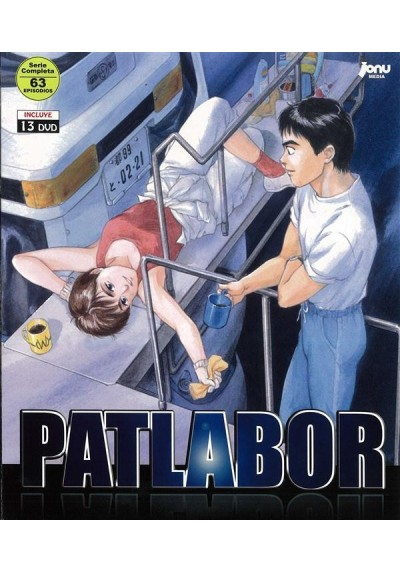 Patlabor: La Patrulla Móvil: La Serie Completa + 16 OVAs