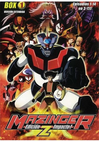 Mazinger Z : Ed. Impacto - Box 1 (Shin Mazinger Shogek Z Hen)