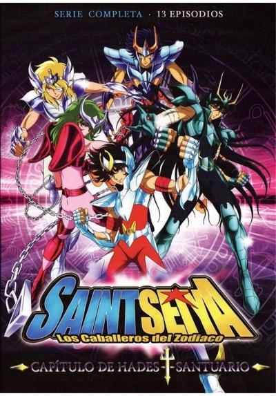 Los Caballeros del Zodiaco. Saint Seiya. Capítulo de Hades-Santuario.