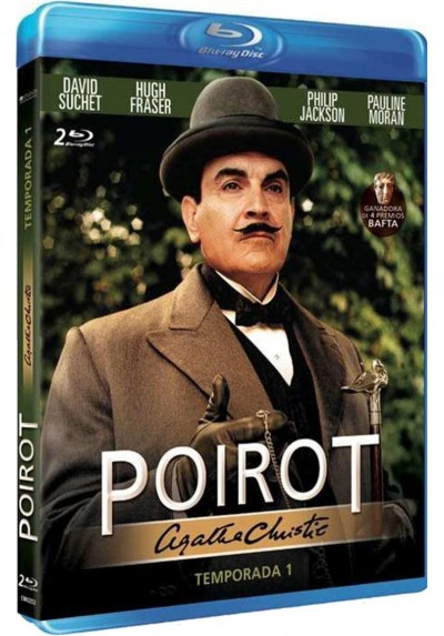 Agatha Christie - Poirot - 1ª Temporada (Blu-Ray)