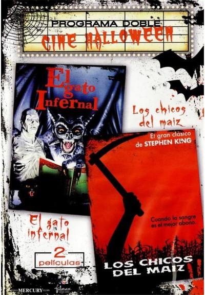 """Programa doble Cine Halloween """"El Gato Infernal y Los Chicos Del Maíz"""""""