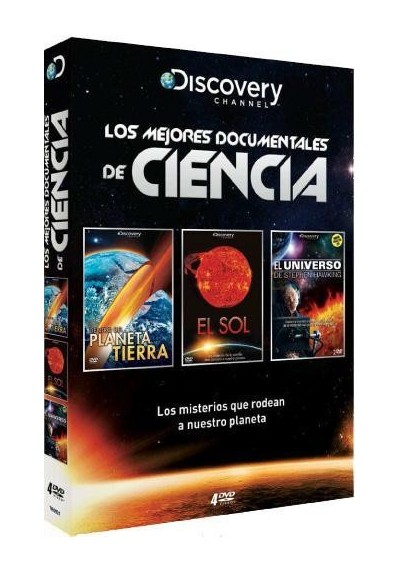 PACK LOS MEJORES DOCUMENTALES DE CIENCIA. DISCOVERY CHANNEL.