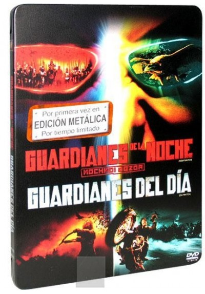 Guardianes de la Noche + Guardianes del Día (Estuche Metálico)