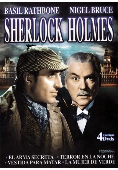 SHERLOCK HOLMES -PACK 4 DVDs