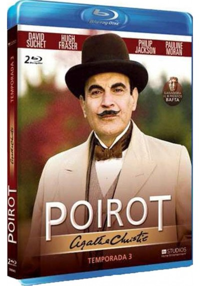 Agatha Christie - Poirot - 3ª Temporada (Blu-Ray)