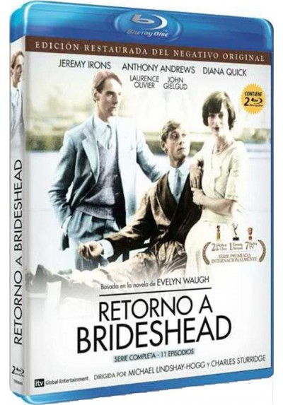 Retorno A Brideshead  (Blu-Ray) (Brideshead Revisited)