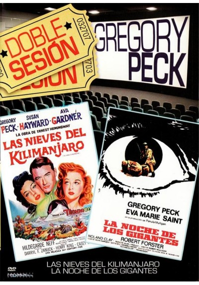 Doble sesion - Gregory Peck