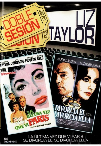 Doble sesion - Liz Taylor