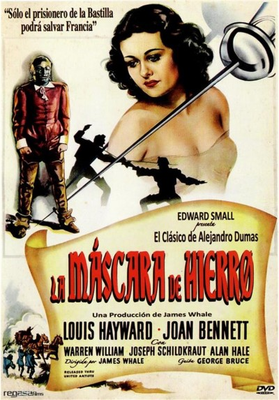 La Mascara De Hierro (The Man In The Iron Mask)