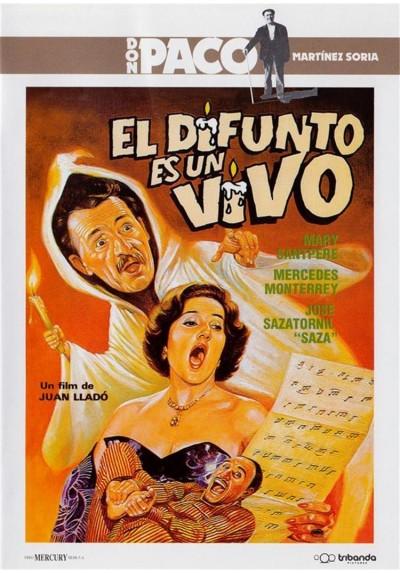El difunto es un vivo - Don Paco Martinez Soria (Estuche Slim)