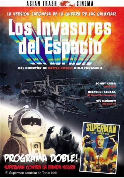 Los Invasores Del Espacio / Superman Contra La Banda Negra (V.O.S.)