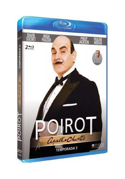 Agatha Christie - Poirot - 5ª Temporada (Blu-Ray)