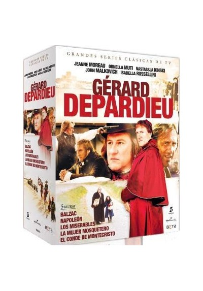PACK GERARD DEPARDIEU (Blu- Ray)