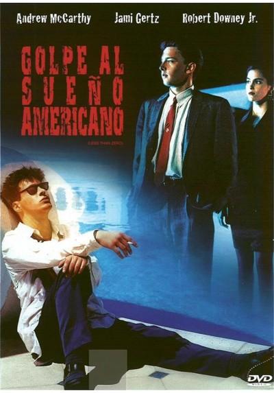 Golpe al sueño americano