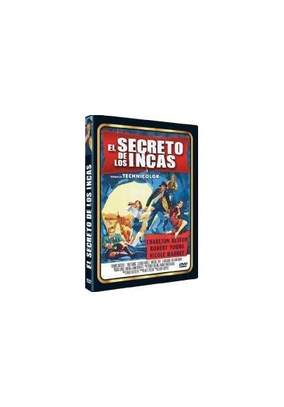 El Secreto De Los Incas (The Secret Of The Incas) (DVD-r)